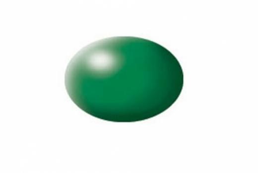 Aqua laubgrün, seidenmatt