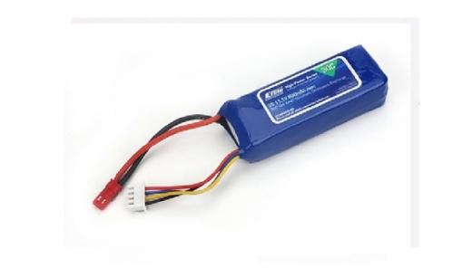E-flite 3S 11,1V 800mAh 30C LiPo-Akku m. JST-Stecker