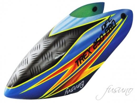 Fusuno Ironic Airbrush fiberglas Haube für T-REX 250 Pro DFC
