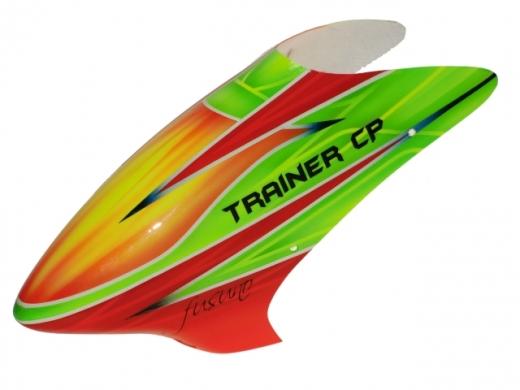 Fusuno Rocket Airbrushed fiberglass Haube für Robbe Trainer CP