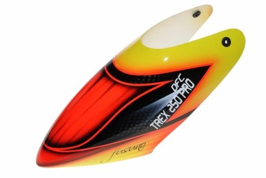 Fusuno Gourmet Airbrush fiberglas Haube für T-REX 250 Pro DFC