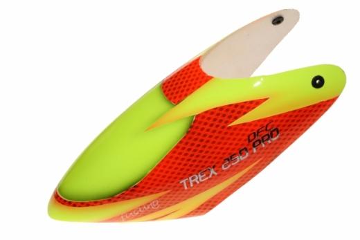 Fusuno Red Snake Airbrush fiberglas Haube für T-REX 250 PRO DFC