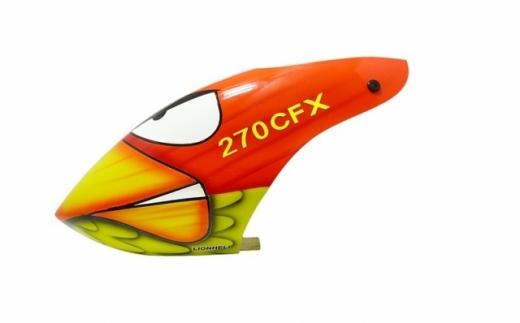 Lionheli Fiberglass Haube Angry Bird für den Blade 270CFX