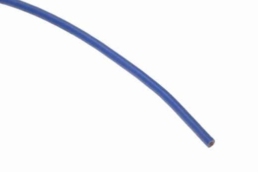 Silikonkabel 4qmm 1Meter blau