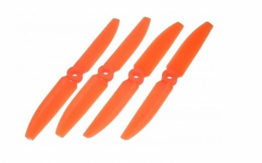 Lynx Propeller Set für FPV Racer 5x4,5 5045 je 2x CW&CCW in orange