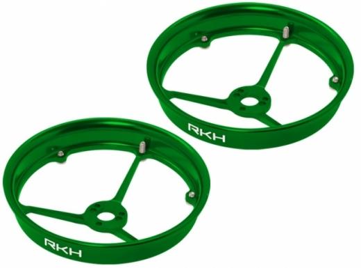 Rakonheli Propellerschutz aus Alu in grün für Blade Inductrix 200