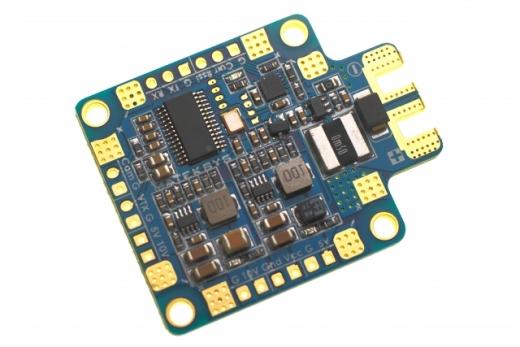 Matek PDB HUBOSD SE mit OSD, 5V und 12V BEC und Current Sensor mit 184 Ampere