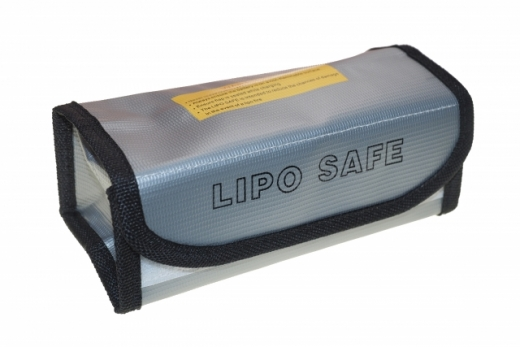 LiPo Safe Bag Sicherheitstasche Brandschutztasche 180x75x60mm