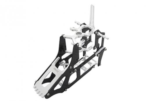 Rakonheli Hauptrahmen aus Carbon in silber für Blade 180 CFX und 180 CFX Trio