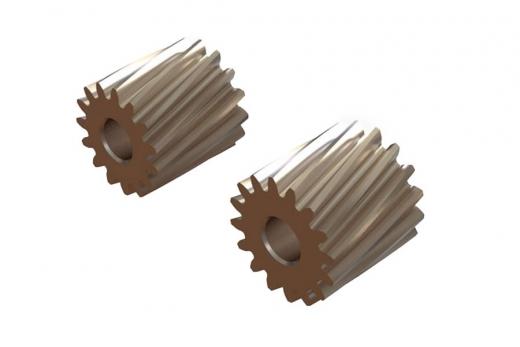 Motor Ritzel Set schrägverzahnt 15 und 16 Zähne für 2,5mm Welle für OXY2