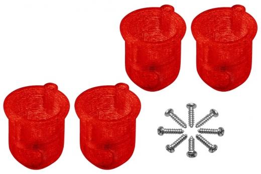 Rakonheli 8 mm Motorhalterungen in rot für Inductrix FPV+ Tuning Rahmen