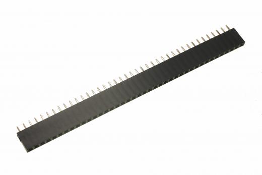 Buchsenleiste 2,54mm, 40 Pins, 1 reihig
