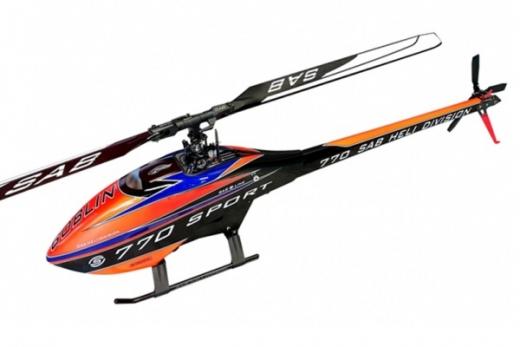 Goblin 770 Sport Line orange/schwarz/blau