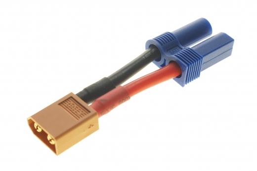 Adapter mit XT60 Stecker auf EC5 Buchse