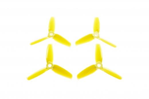 Gemfan FPV Race Propeller FLASCH 3052 3,0×5,2x3 in gelb