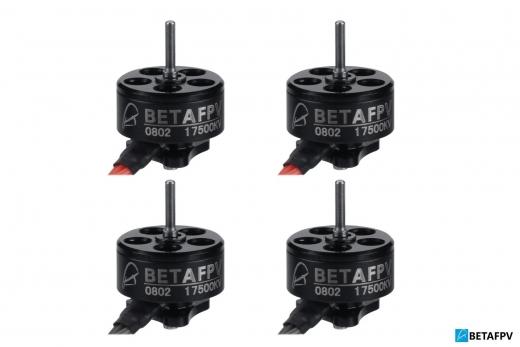 BetaFPV Brushless Motor 0802 mit 17500KV 4Stück