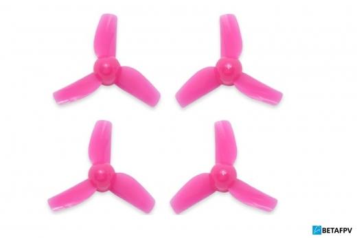BetaFPV 3 Blatt Propeller 31mm für 0,8mm Welle in pink