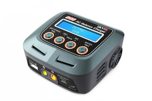 SkyRC S60 AC Ladegerät LiPo 2-4s 5A 60W Entladen 2A 10W