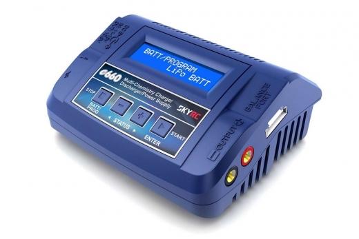 SkyRC e660 AC/DC Ladegerät LiPo 1-6s 6A 60W