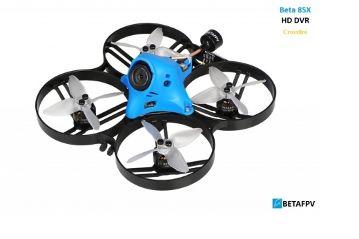 BetaFPV Beta85X 2S-3S brushless Quadcopter mit HD DVR BNF mit Crossfire mit D16 Mode