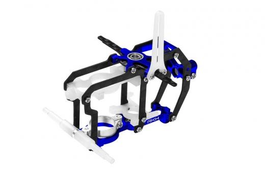 Rakonheli Hauptrahmen aus Carbon in blau für Blade Nano S2