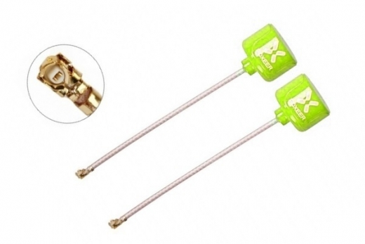 Foxeer Lollipop 3 FPV Antennen Set AXII RHCP U.FL in neon gelb 2 Stück