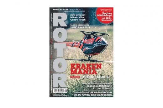 Rotor Fachmagazin für Modellhubschrauber Ausgabe 8 August 2019