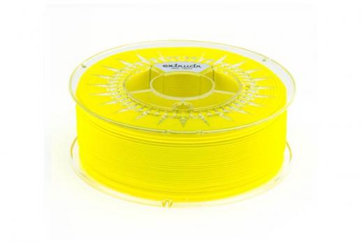 Extrudr Filament PETG (Polyethylenterephthalat glykolmodifiziert) in neon gelb Ø 1,75mm 1,1Kilo