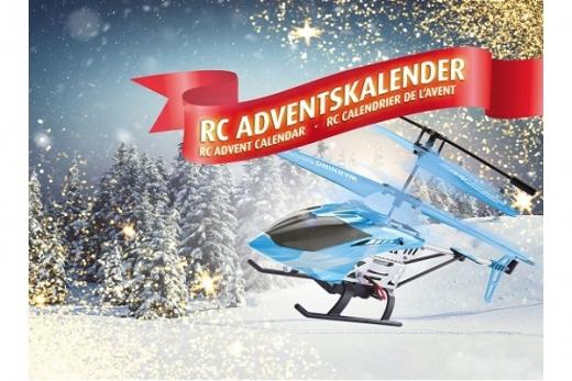 Revell RC Adventskalender 2019 RC Heli  zum selber bauen Tag für Tag ein Stück näher zum fliegenden Modell