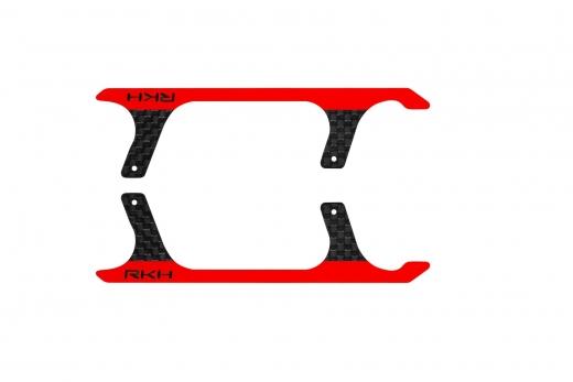 Rakonheli Landegestell Ersatzkufen in rot für Blade 150 S