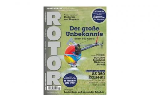 Rotor Fachmagazin für Modellhubschrauber Ausgabe 11 November 2019