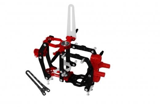 Rakonheli Hauptrahmen aus Carbon in rot für Blade mCPX BL2