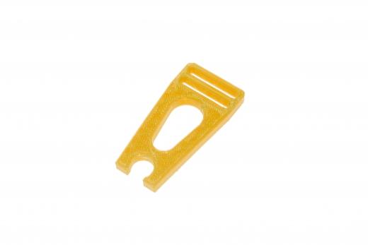 Blatthalter aus TPU in orange für Blade 150S