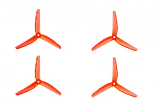 Azure Vanover 5,1x4,5x3 3-Blatt Propeller in orange trandparent