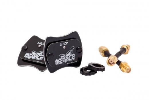 Menace FPV DJI Digital HD Antennen SET (Digi Pack) LHCP RPSMA (ohne Pin)