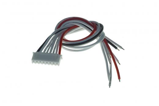 XH Balancer Anschlusskabel aus Silikon Akkuseite 22AWG/0,32MM² 20cm länge für 7S