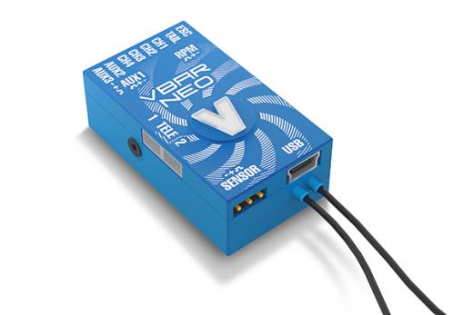 Mikado VStabi NEO Alu-Gehäuse blau, VLink 6.x Express