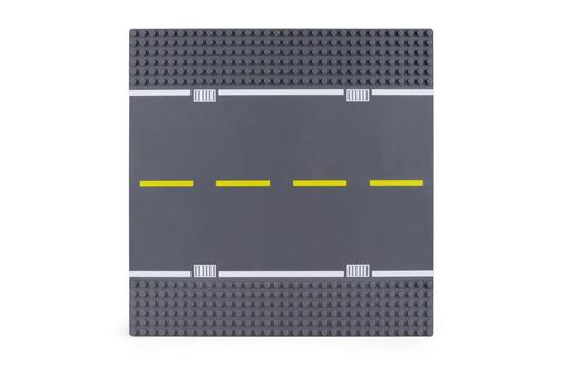 Wange Grundplatte Straße 32x32 Noppen, ca. 25,5x25,5cm