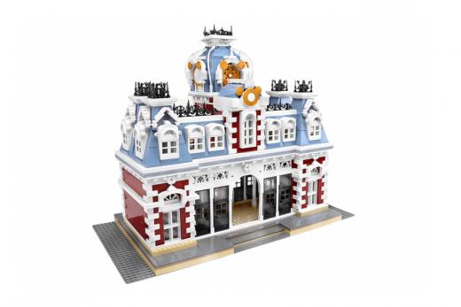 Mould King Klemmbausteine King Station mit LED Beleuchtung - 3132 Teile