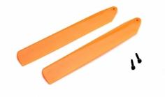 Blade Ersatzteil mCP X BL Hi-Performance Hauptrotorblätterset Orange