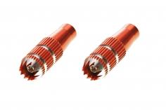 Spektrum Steuerknüppelaufsatz, 24mm Orange Spektrum Steuerhebelaufsatz, 24mm schwarz DX6i, DX7s, DX8, DX9, DX18QQ