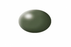 Aqua olivgrün, seidenmatt