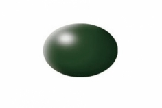 Aqua dunkelgrün, seidenmatt