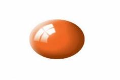 Aqua orange, glänzend