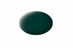 Aqua schwarzgrün, matt