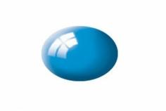 Aqua lichtblau, glänzend