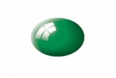 Aqua smaragdgrün, glänzend