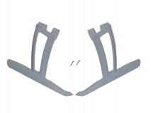 Blade Ersatzteil 350QX Kufengestell mit Zubehör weiß