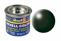 Revell Color 32363 dunkelgrün, seidenmatt