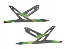 Blade 130 X Xtreme Ersatz Landegestell grün